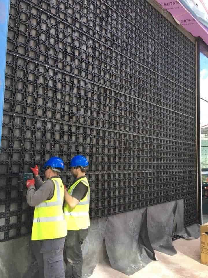 Barons Quay, Northwich – Our Biggest Green Wall