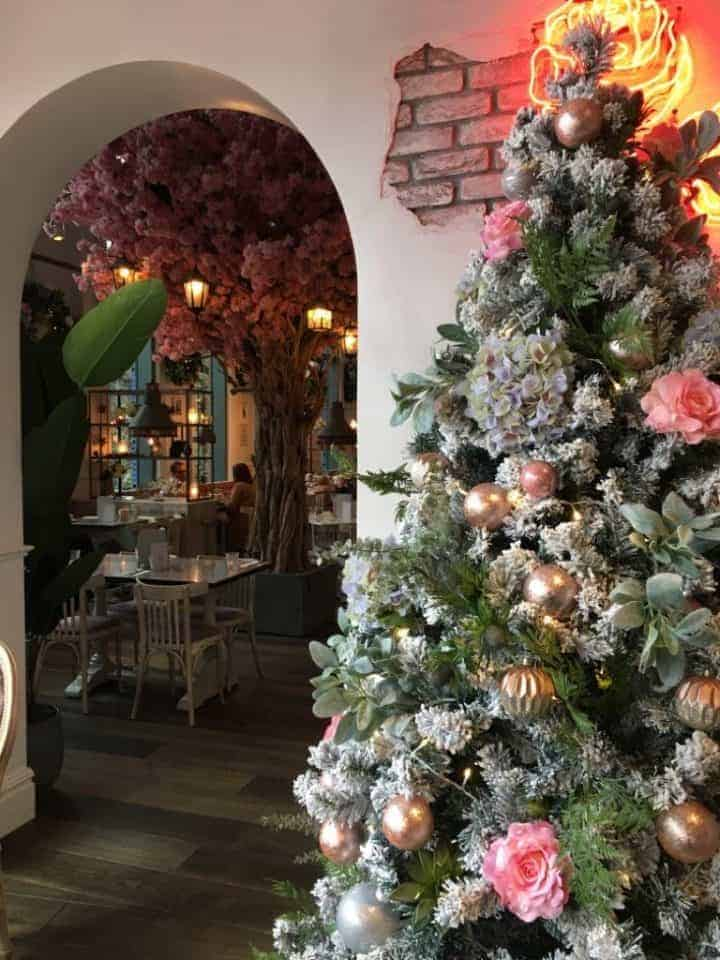 'Tis The Season For Festive Plant Displays: The Florist's Christmas Transformation